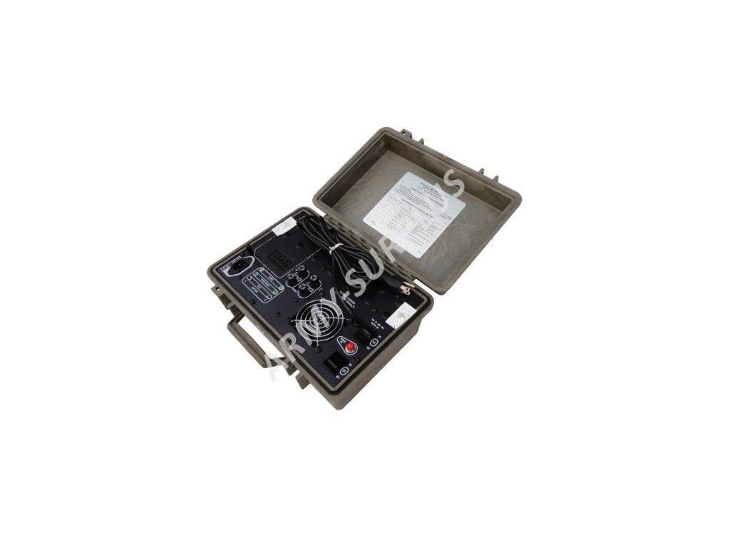 Nabíječka baterií akumulátorů US PP-8444A/U battery charger