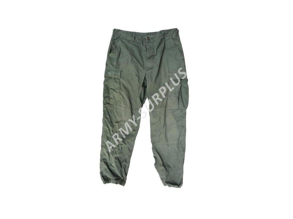 Kalhoty US BDU ripstop oliv použité