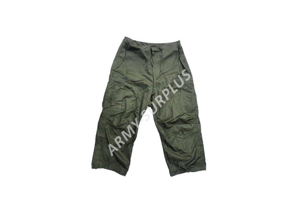 Kalhoty US Shell Arctic zimní M-1951 US oliv originál