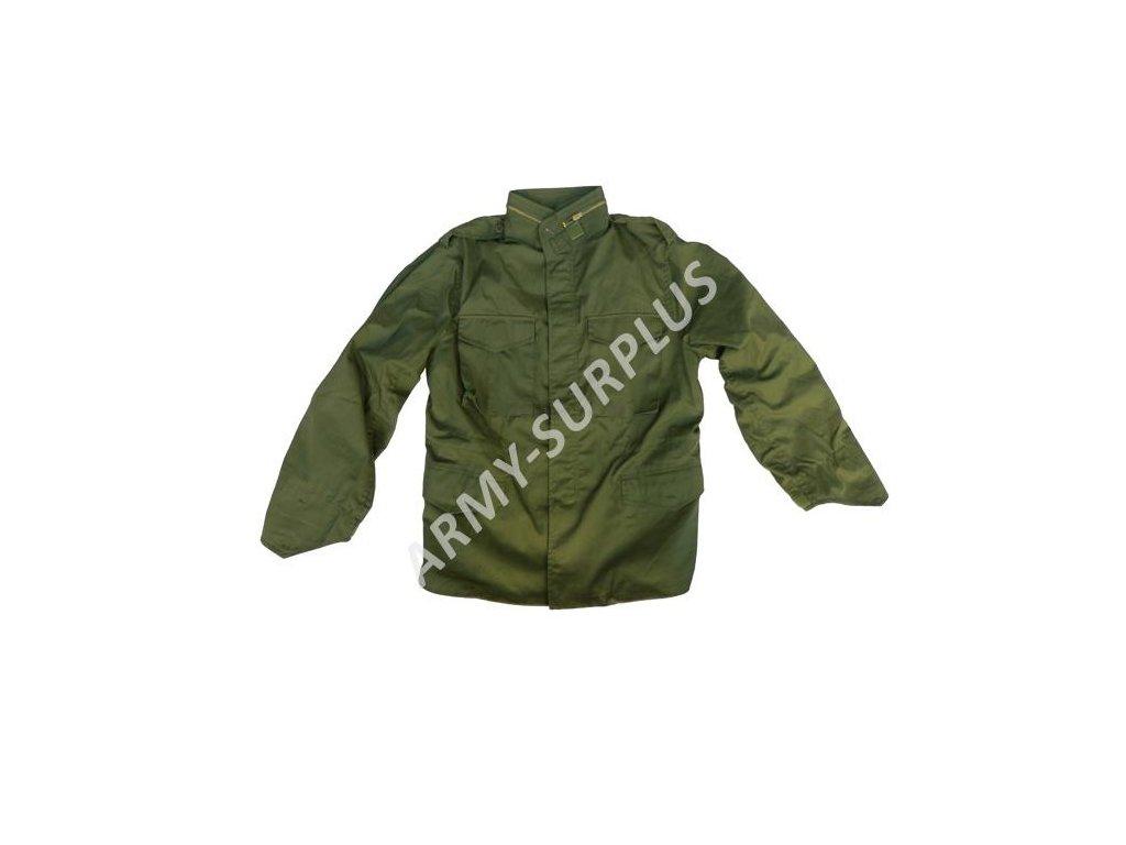Polní kabát, bunda (parka) M65 oliv Izrael (Israel)