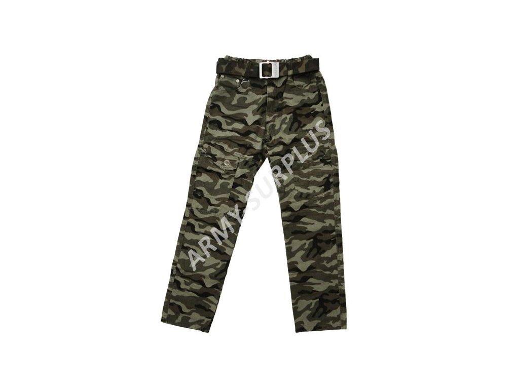 Kalhoty dětské safari woodland