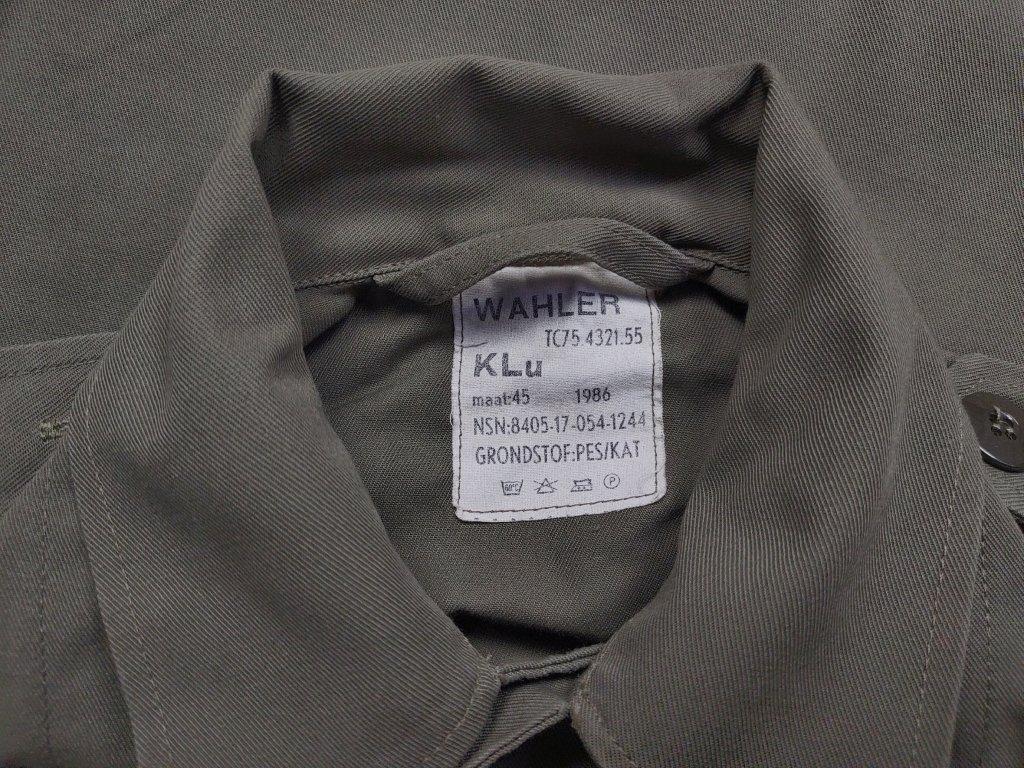Košile Holandsko dlouhý rukáv šedá