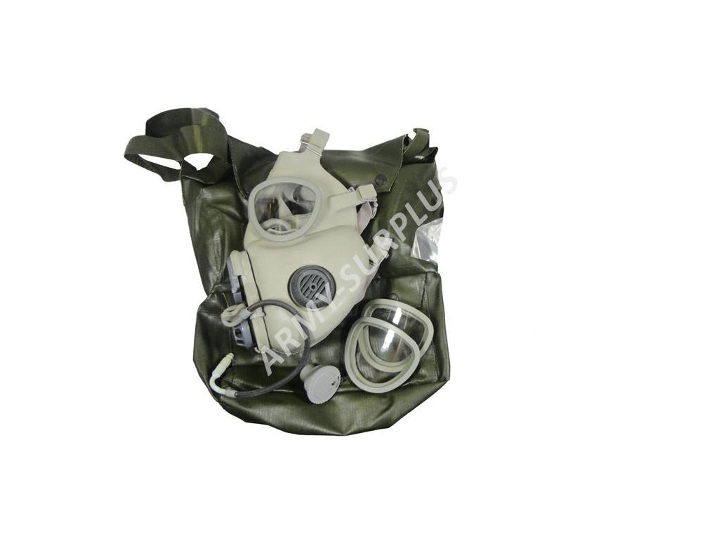 Plynová maska M10/M ČSLA AČR originál