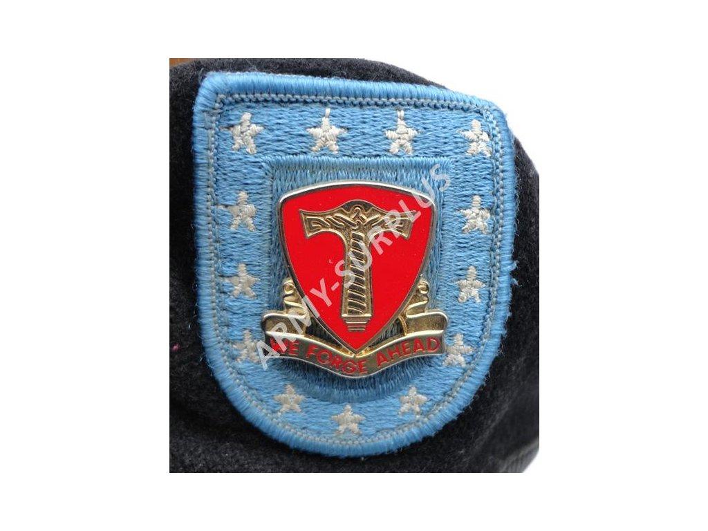 ... Baret US s odznakem 18th Combat Sustainment Support Battalion černý  originál použitý ... adef381a9f