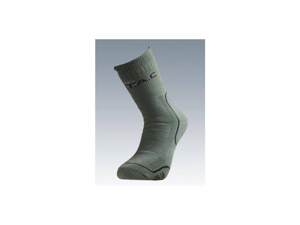 Ponožky Thermo (termo) olive Batac TH-02