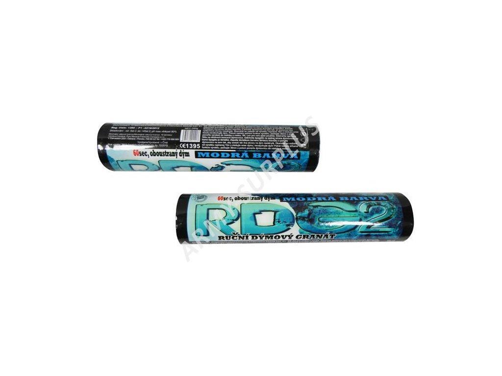 Dýmovnice RDG2 modrá airsoft