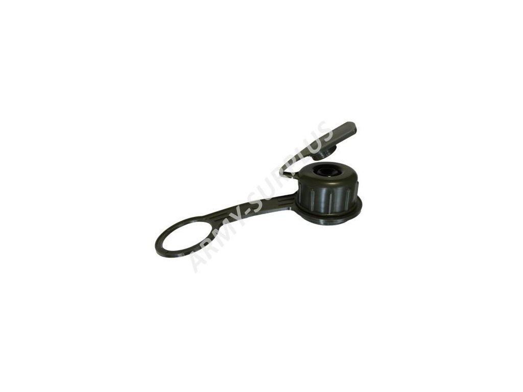 Uzávěr s ventilem na čutoru AČR oliv vz.95 k plynové masce