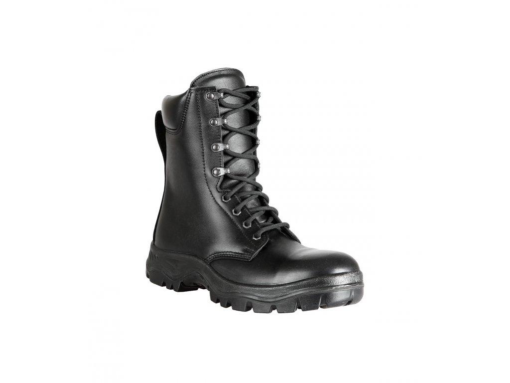 Boty (Kanady) PRABOS S70721 kožené černé