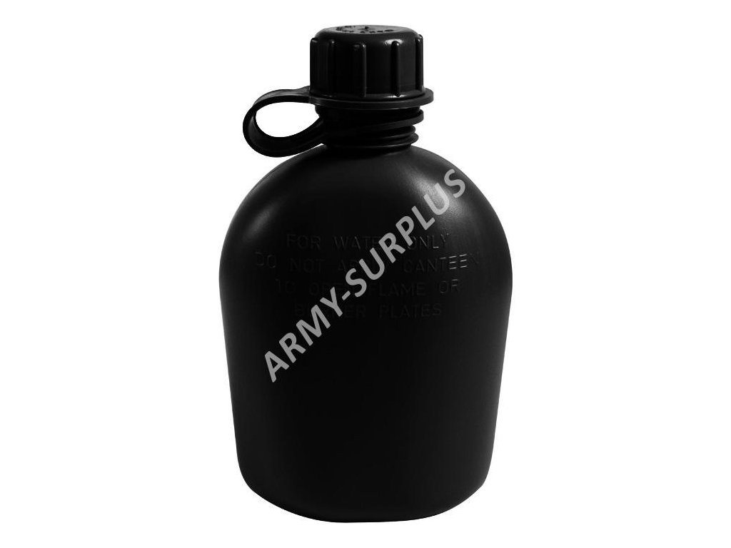 Polní láhev (čutora) US holá 1Qt černá