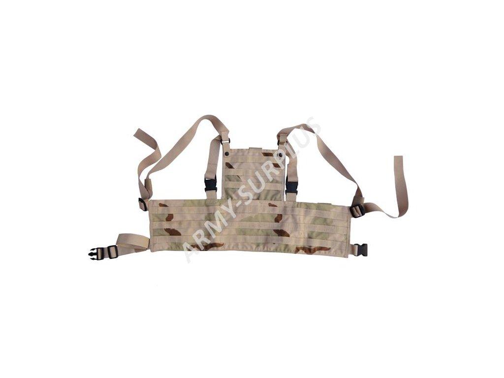 Taktická vesta Chest Rig molle 3D US Rack System desert 3 color zánovní