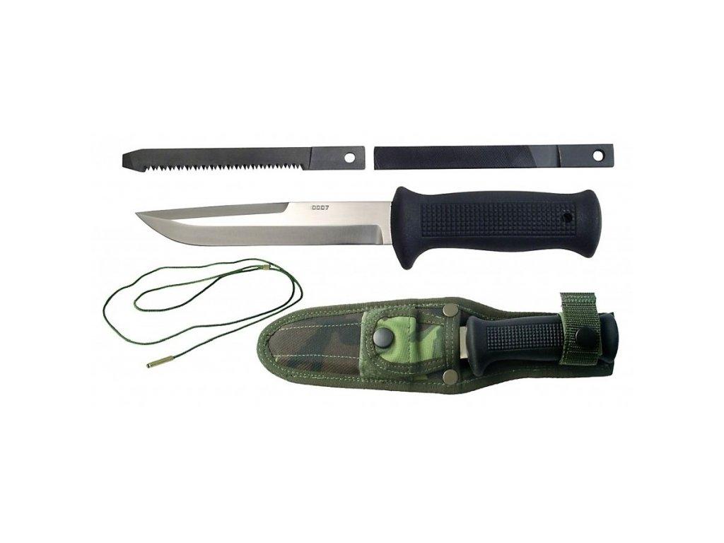 Nůž Uton Mikov 392-NG-4 vz.75/MNS AČR vz.95 serie 0007 maskovací pouzdro