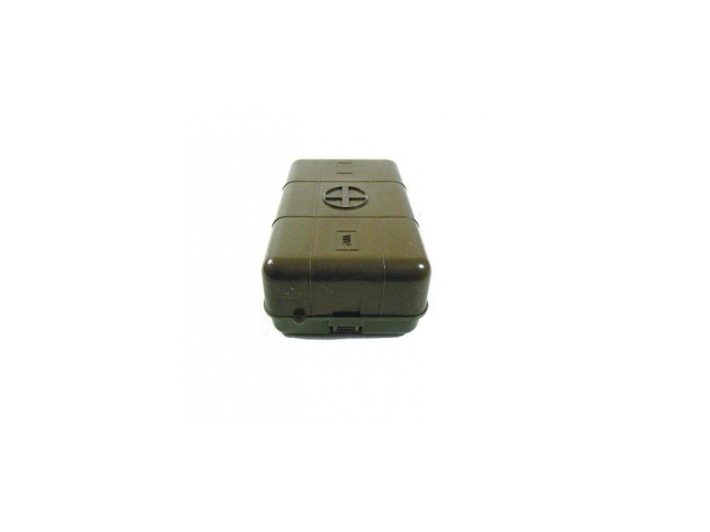 Krabička lékarnička medic oliv WP 20 x 13,5 x 8 cm