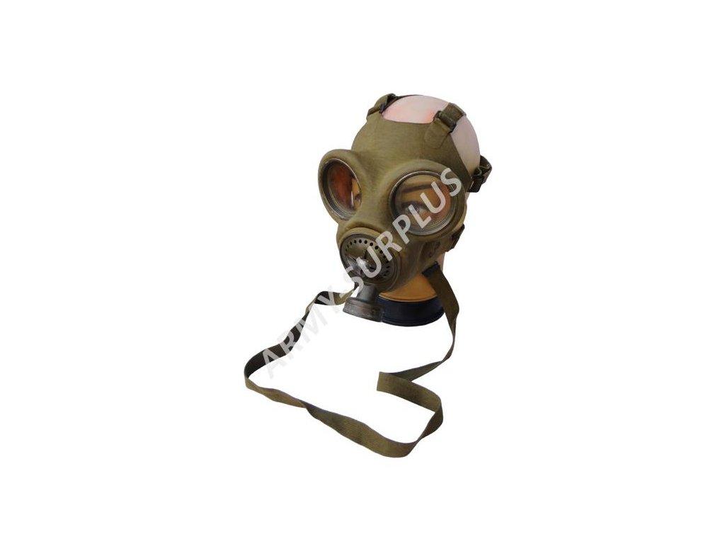 Plynová maska vz. 35 Fatra oliv