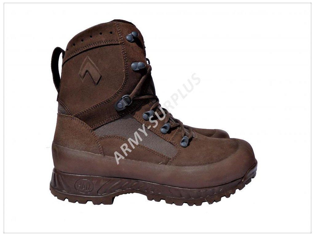 Značka  ARMÁDNÍ ORIGINÁL UK VELKÁ BRITÁNIE · boty -haix-combat-high-liability-boots-hnede-brousena- 36a270c9f0