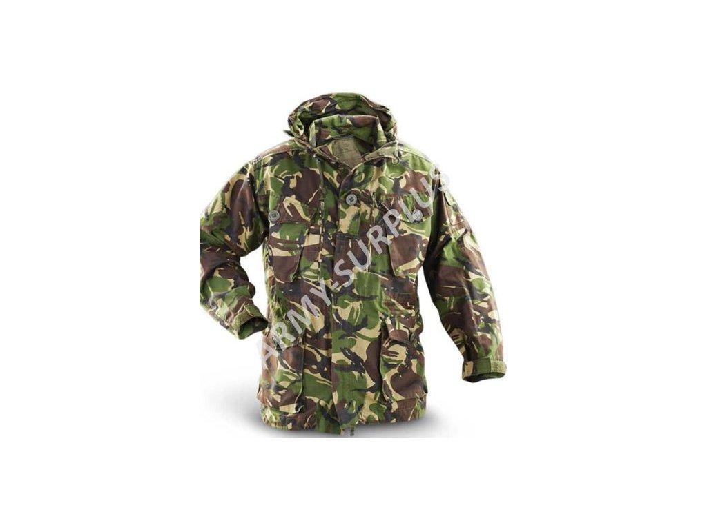 Bunda SAS Tantalus Velká Británie Smock Combat Woodland DPM Windproof s kapucí originál