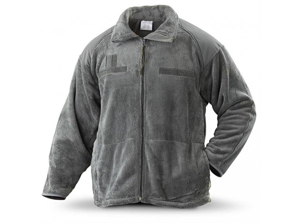 Mikina (bunda) US Jacket fleece foliage generace III / level 3. ECWCS Polartec originál