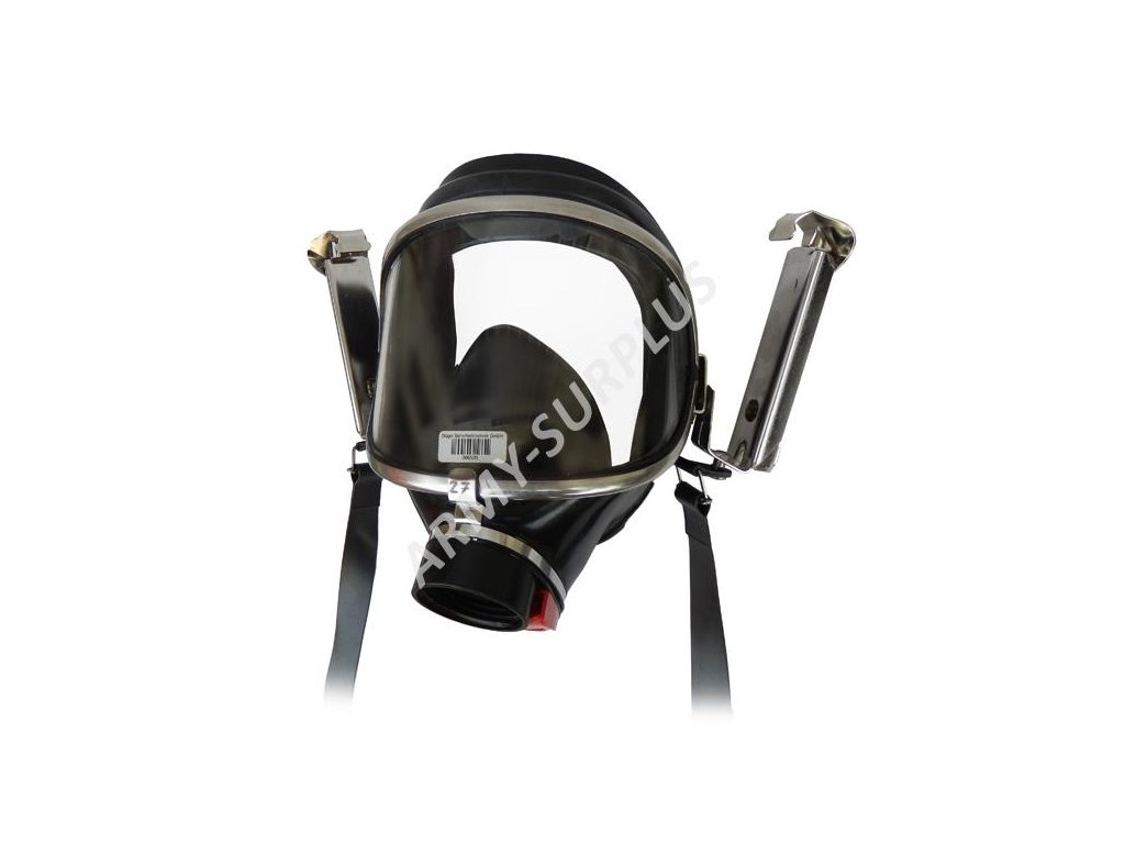 Plynová maska Drager Panorama Nova SUPRA PE-EPDM-PC kandahár
