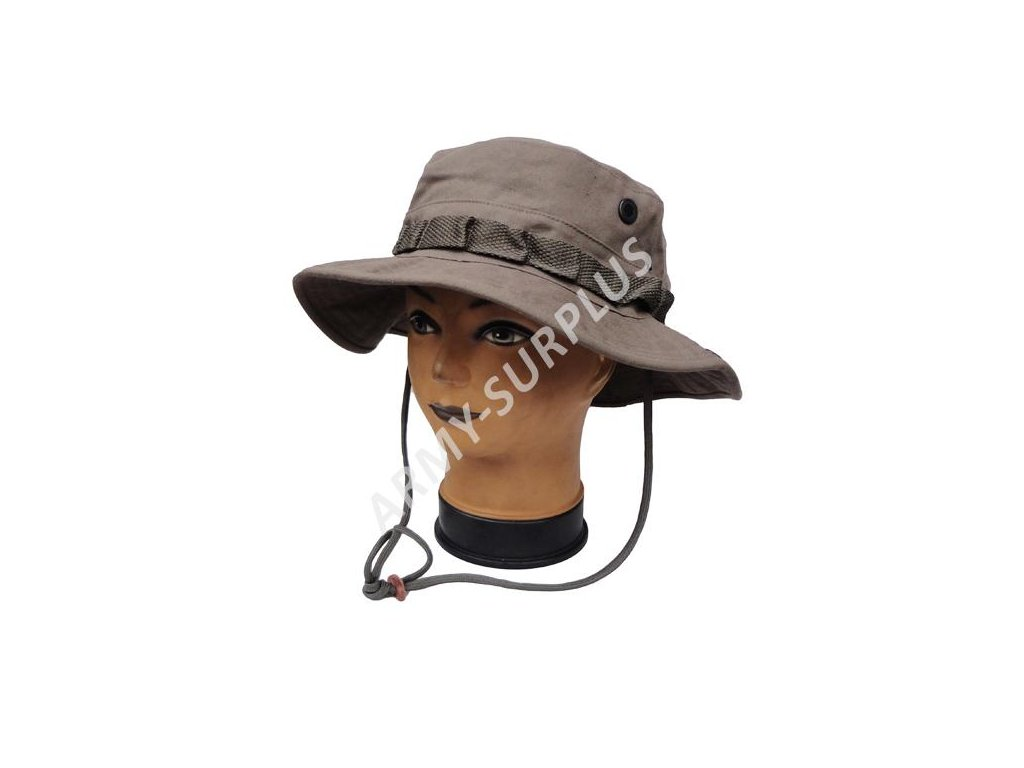 Klobouk jungle khaki Fosco