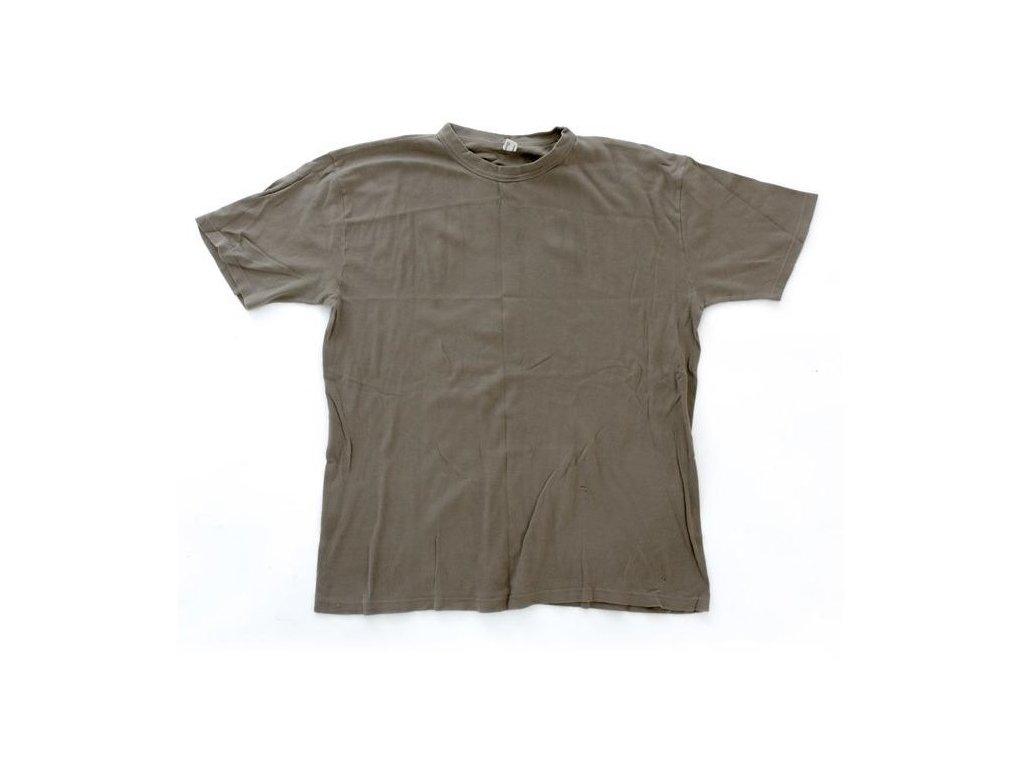 eaab374db92 Triko AČR hnědé krátký rukáv - ARMY-SURPLUS