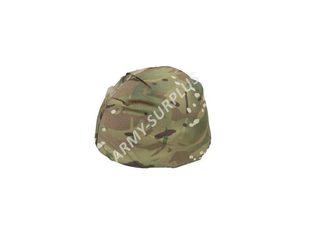 Potah (povlak,obal,převlek) na britskou helmu Mk6 MTP Velká Británie (multicamo) bez přídavných popruhů