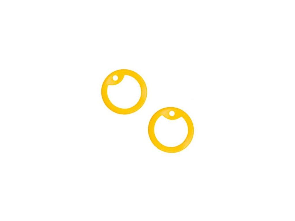 Gumička (tlumítka) silikonová k U.S. DOG TAGS žlutá 1ks