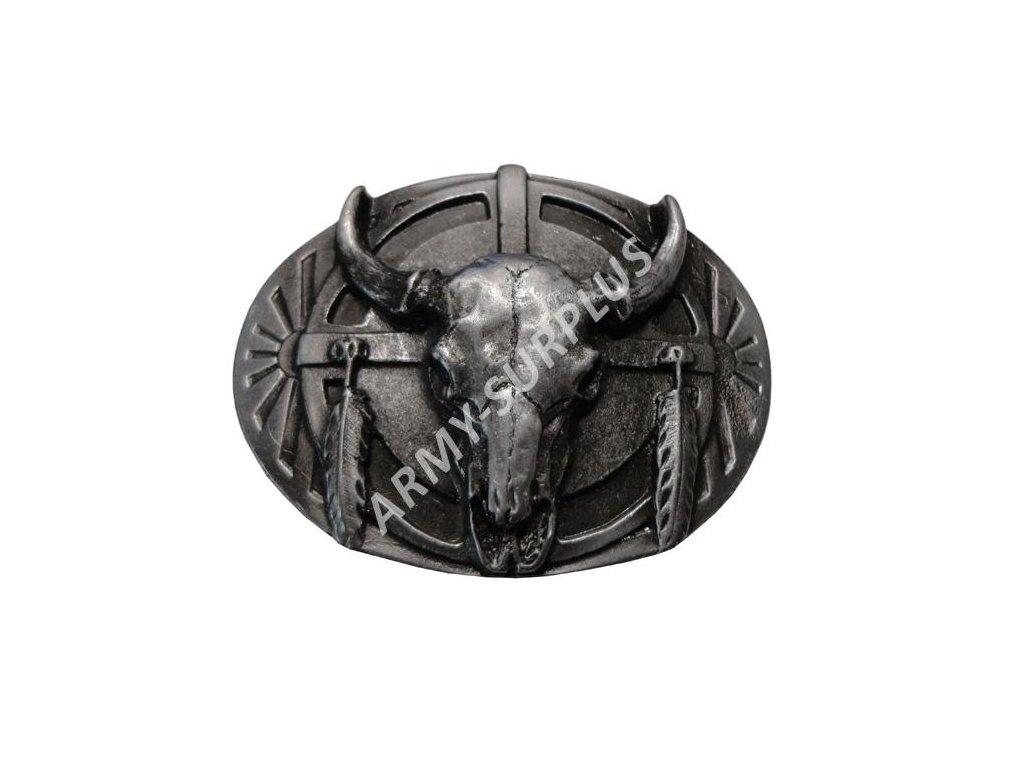 prezka-na-opasek-western-lebka-bizona-starozinek-b1321