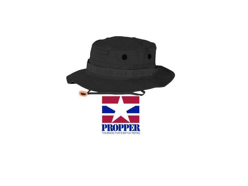 Klobouk jungle Propper černý - ARMY-SURPLUS 077c0a1893
