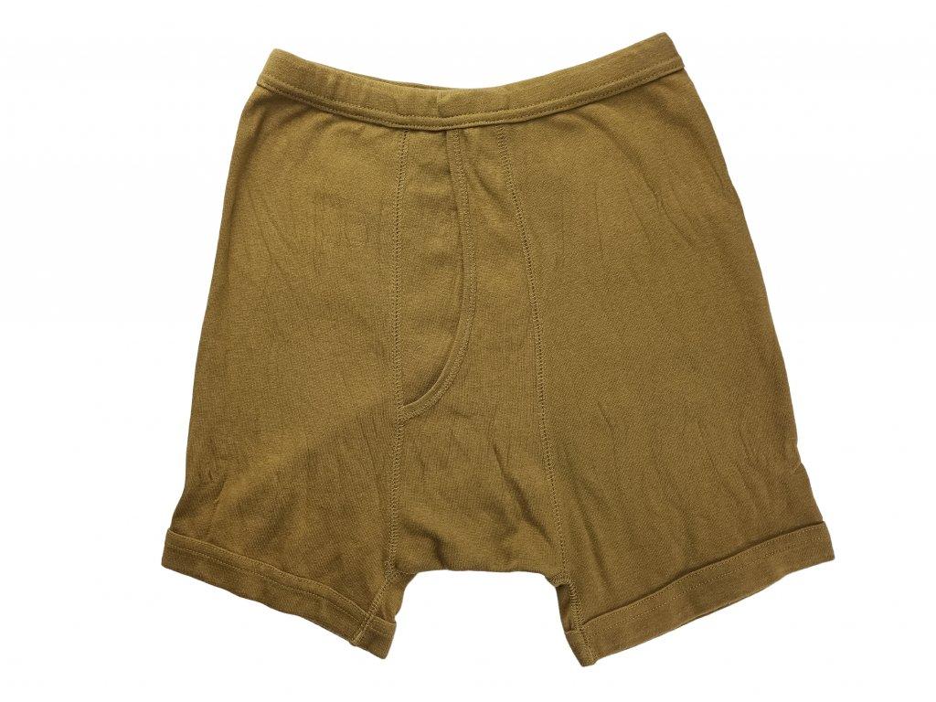 trenyrky--spodni-pradlo--holandsko-oliv-original-nove