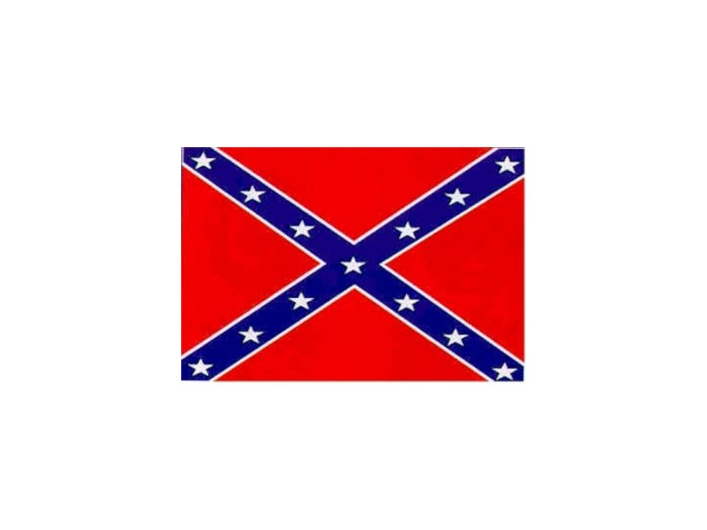 Vlajka Konfederace (jižanská) 90x150cm č.66
