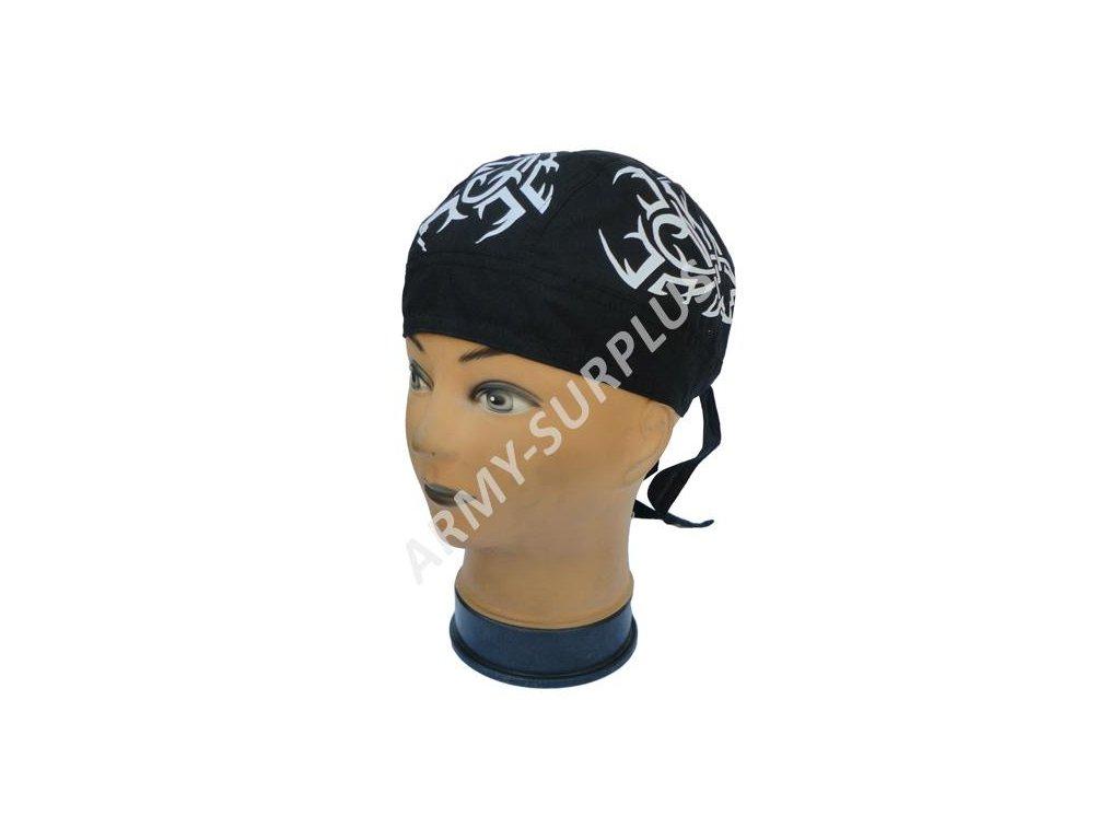 Šátek pirát na hlavu tribal