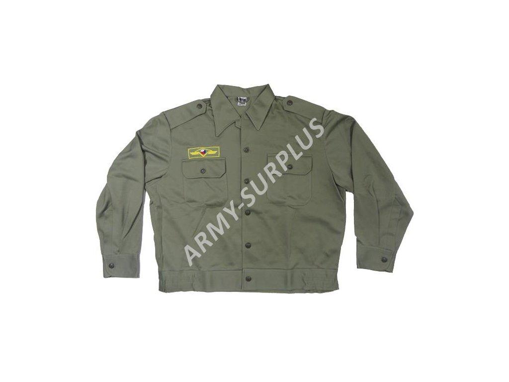 9753db1d284 Košile (bundokošile) ČSLA khaki - ARMY-SURPLUS
