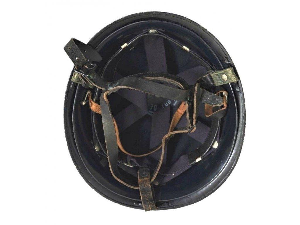 Helma Francie (přilba) francouzská policie Gendarme kovový odznak