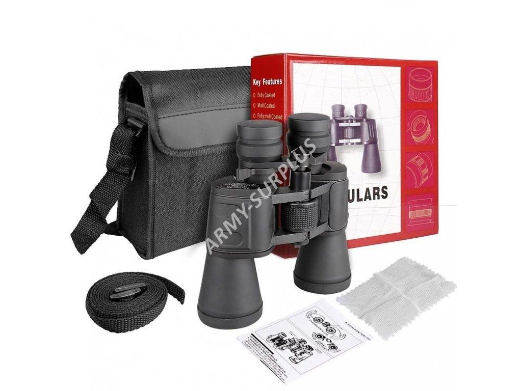 Dalekohled Sport 10x-70x70 ZOOM Porro Prism Binoculars černý