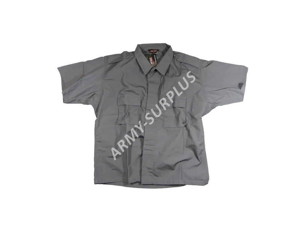 88d1ad40b58 Košile s krátkým rukávem šedá Tru-Spec ripstop - ARMY-SURPLUS