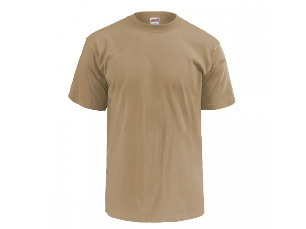 98999a51ae9 Triko US hnědé krátký rukáv Sand originál US ARMY Soffe - ARMY-SURPLUS