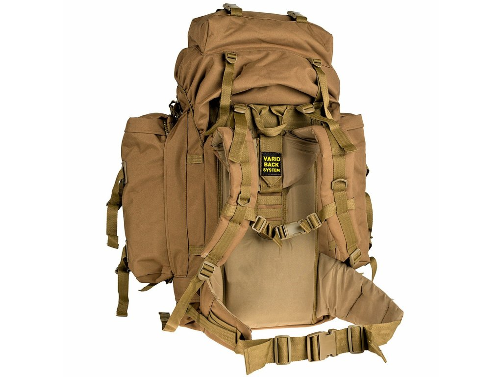 Batoh BW Mountain Vario A.B. 100l coyote-pouštní - ARMY-SURPLUS 83efd9bab4