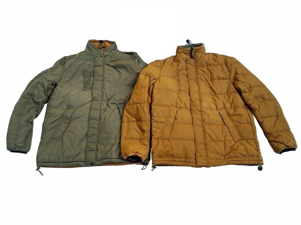 29139 bunda softie oboustranna oliv coyote holandsko original jacket thermal reversible