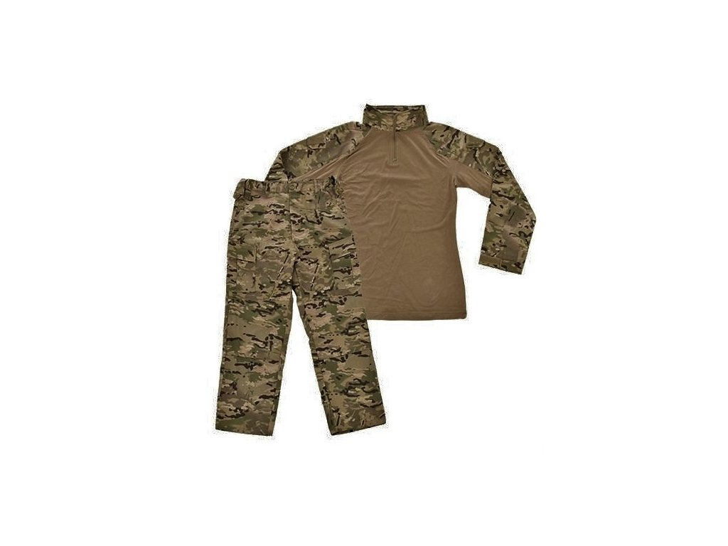 Komplet taktický Patriot (kalhoty,triko-UBACS) Multicam Ukrajina ripstop originál