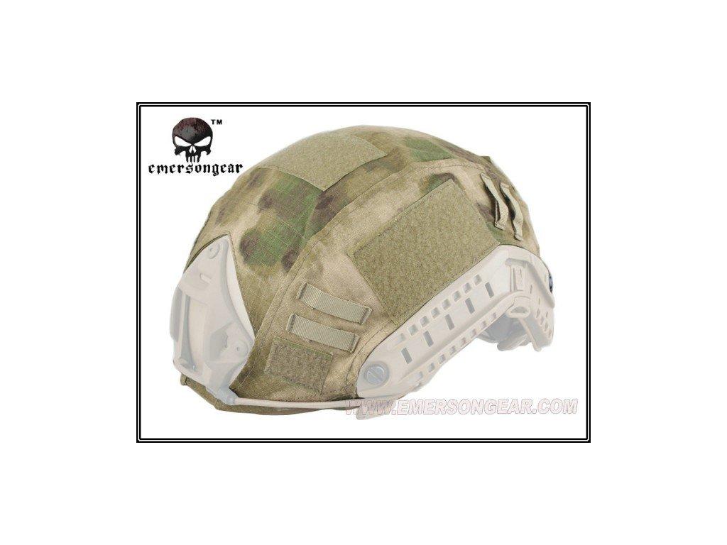 Potah (povlak,obal,převlek) na helmu FAST Tactical icc fg Velcro Emerson EM8825