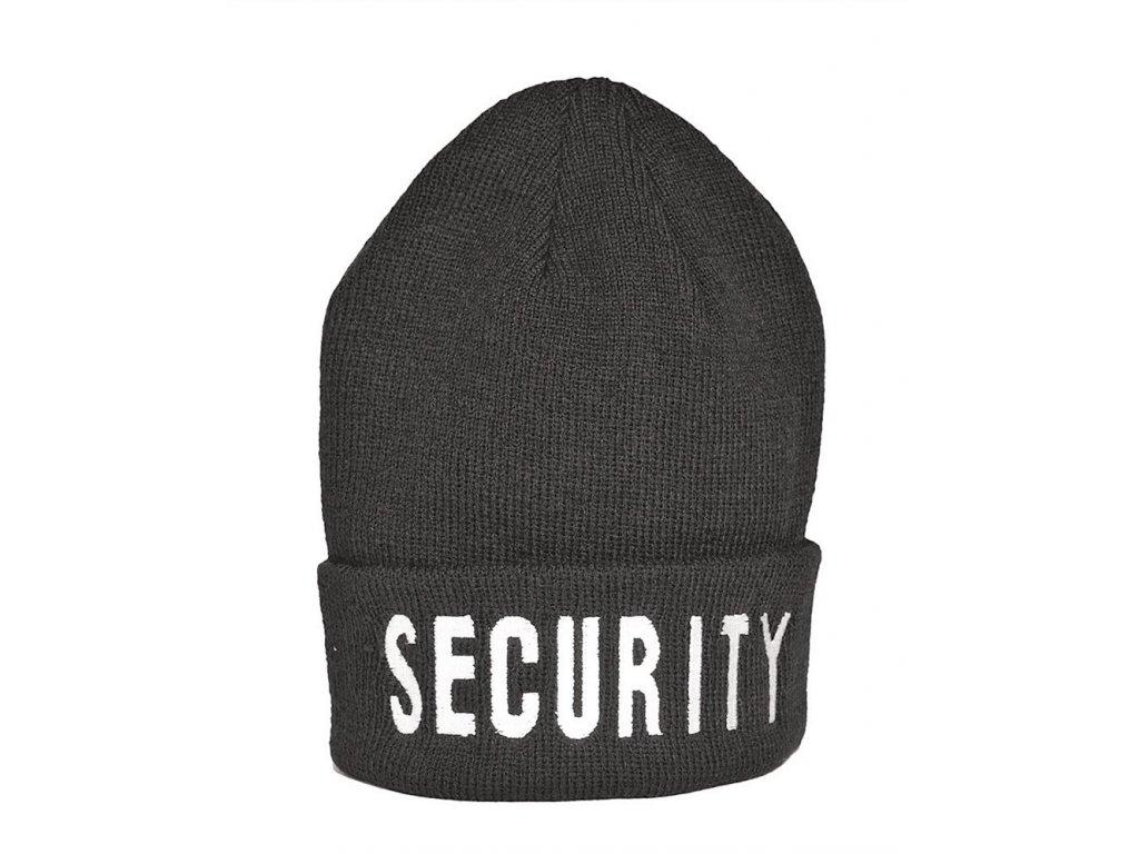 Kulich zimní SECURITY černý