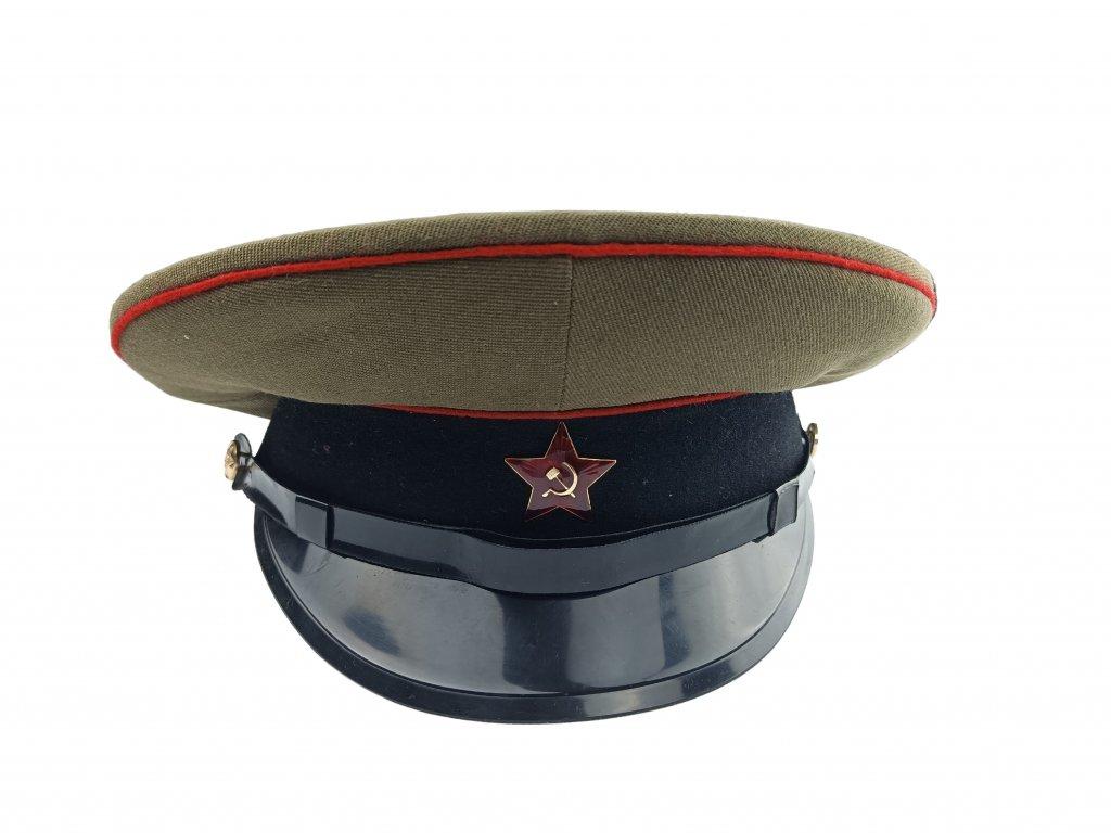 brigadyrka-rusko-zelena-cerny-lem-plastovy-podbradnik