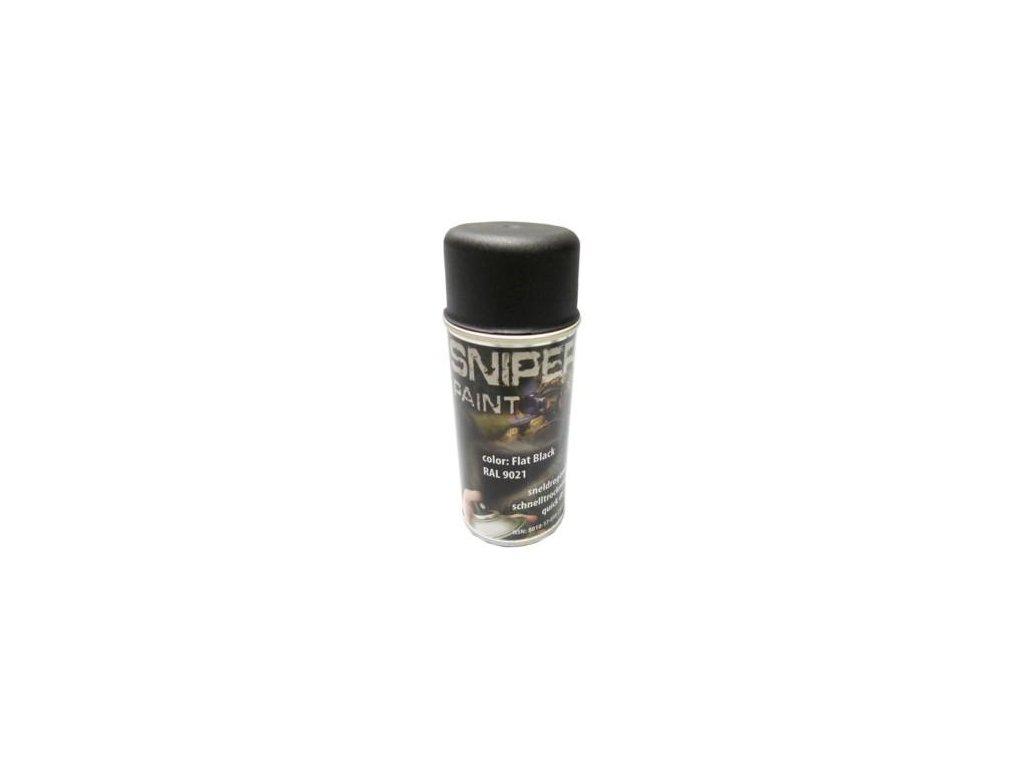 Barva ve spreji Army Paint 150 ml černá RAL 9021