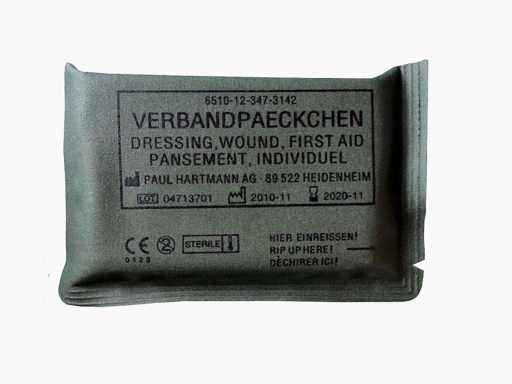 Tlakový elastický obvaz první pomoc BW (Bundeswehr)
