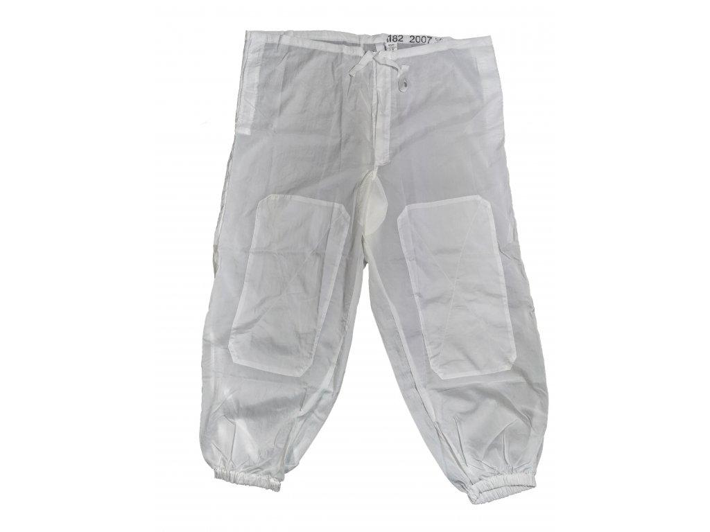 Kalhoty bílé sněžné převlekové zimní 2000 Ačr originál