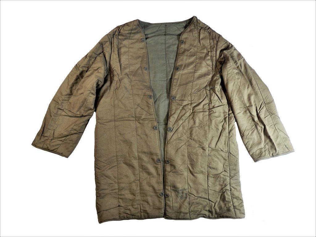 Vložka do kabátu konga jehličky zateplovací prošívaná  vz. 60 ČSLA