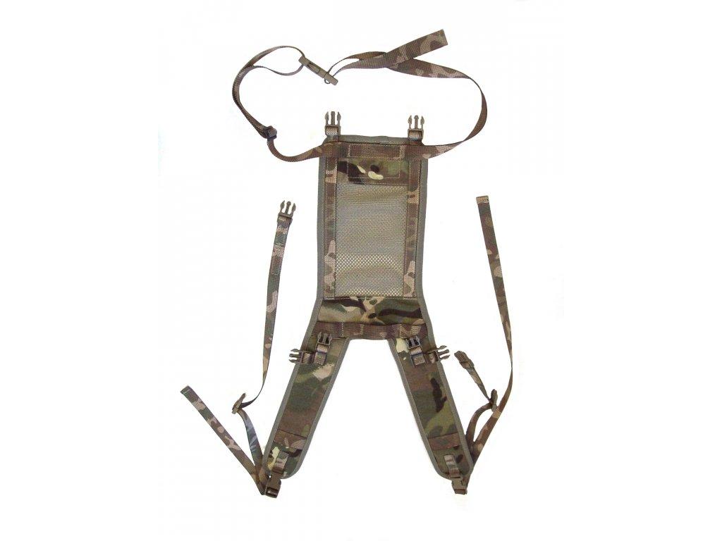 Nosné treky (šle, kšandy) britské  Yoke Pouch Side MTP IRR ke kapsám na batoh kompletní