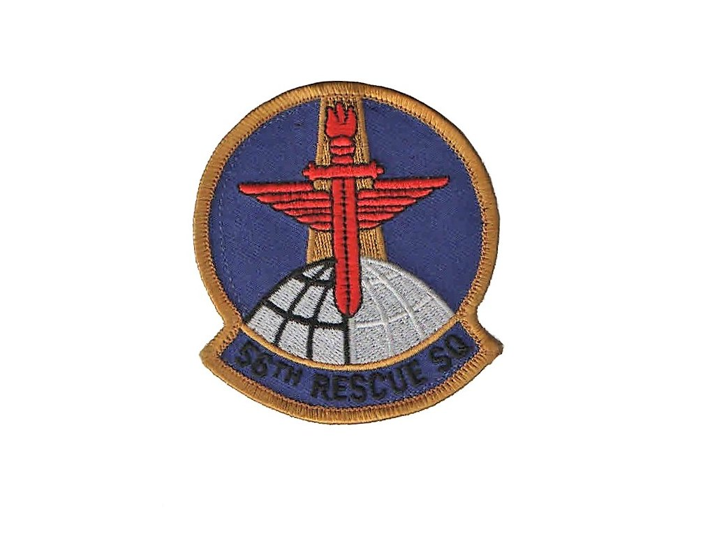 Nášivka US Air Force USAF 56th Rescue Squadron