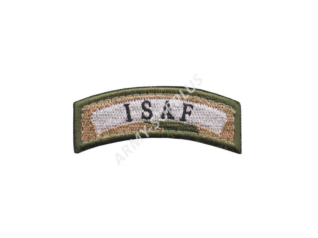 Nášivka ISAF Velcro