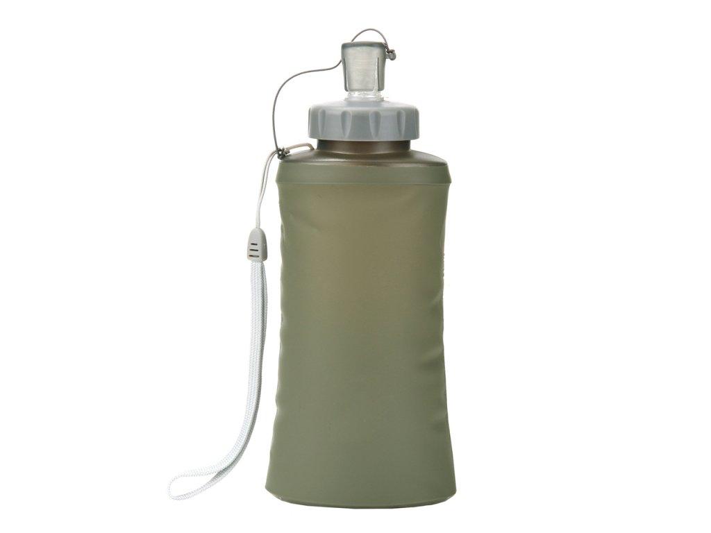 Skládací láhev 101.INC Tactical 750ml oliv