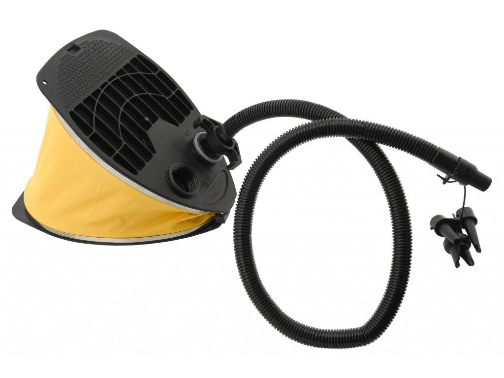 Vzduchová nožní pumpa kempingová Cattara